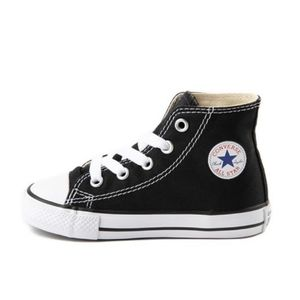 CONVERSE Black & White High Top Baby Sneakers